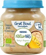 Nestlé Naturnes 125G Luomu Tropical Fruits Kauravälipala 12Kk