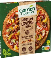 Garden Gourmet 430 G Pizza, Jossa On Täytteenä Kasviksia, Marinoitua Nyhtösoijaa Ja Mozzarella-Juustoa