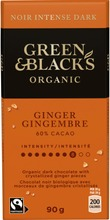 Green & Blacks Organic Ginger Suklaalevy 90G