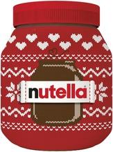 Nutella hasselpähkinä-kaakaolevite 1kg Joulu