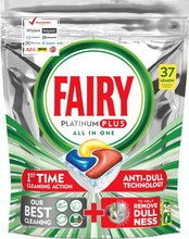 Fairy 37Kpl Platinum Plus All In One Lemon Konetiskitabletti