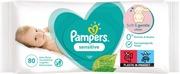 Pampers 80Kpl Sensitive Baby Wipes Puhdistuspyyhe