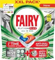 Fairy 60Kpl Platinum Plus All In One Lemon Konetiskitabletti