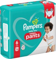 Pampers 33kpl Baby Dry Pants S6 15+ kg housuvaippa