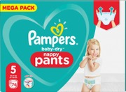 Pampers 74Kpl Baby Dry...