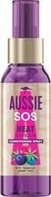 Aussie Sos Heat Saviour 100Ml Conditioning Spray Hoitosuihke