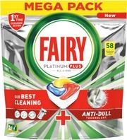 Fairy 58Kpl Platinum Plus All In One Lemon Konetiskitabletti