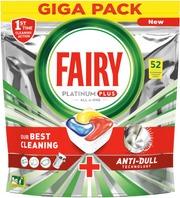 Fairy 52Kpl Platinum Plus All In One Lemon Konetiskitabletti