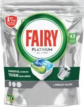 Fairy 43Kpl Platinum All In One Original Konetiskitabletti