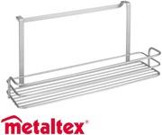 Metaltex Oasis 34x12x17cm leveä kori oveen