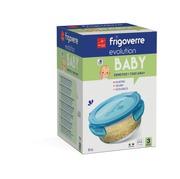 Bormioli Frigoverre Baby Lasitiiviö 14 Cm 3-Pack