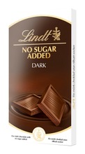 Lindt No Added Sugar tumma suklaalevy 100g
