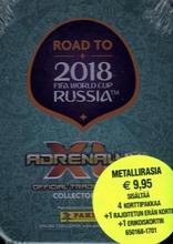 Road To World Cup 2018 Adrenalyn Xl Pocket Tin-Rasia Keräilykortit