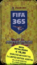 Panini Fifa 365 Adrenalyn Xl Regular Tin-Rasia Keräilykortit