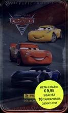 Panini Disney Autot 3- Metallirasia   10 Keräilytarra Pussia