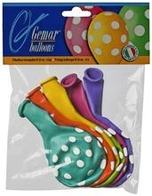 Gemar Balloons Pilkulliset Ilmapallot 6Kpl