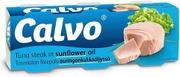 Calvo 3X80g Tonnikalaa Auringonkukkaöljyssä