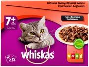 Whiskas 7+ Perinteinen lajitelma kastikkeessa 12x100g