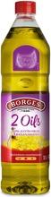 1L Borges 2 Oils Rypsi- Ja Neitsytoliiviöljysekoitus
