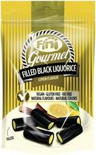 Fini Gourmet Lemon Gluteeniton Sitruunanmakuinen Täytelakritsipussi 180G