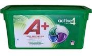 A+ 22Kpl White Active4 Caps Nestemäinen Pyykinpesutabletti