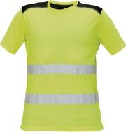 Cerva KNOXFIELD Hi-Vis T-paita keltainen