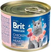 Brit Premium By Nature Kana-Sydän 200 G