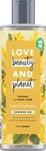Love Beauty And Planet Suihkusaippua Tropical Hydration 400 Ml