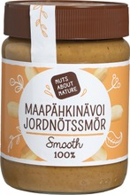 Nuts About Nature 340G Maapähkinävoi Smooth 100%