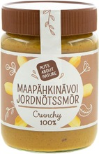 Nuts About Nature 340G Maapähkinävoi Crunchy 100%