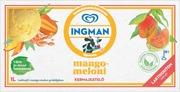 Ingman Jäätelöpakkaus Laktoositon Mango-Meloni 1000Ml/489G