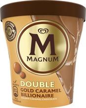 Magnum Jäätelöpakkaus Double Gold Caramel Billionaire 440 Ml