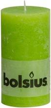 Bolsius Rustiikkikynttilä 68/130Mm Lime Green 74
