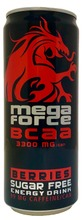Megaforce 0,33L Bcaa Marjat Sokeriton Energiajuoma