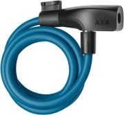 Axa Resolute 120/8 Petrol Blue Cable