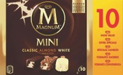 Magnum 55Ml / 443G Monipakkaus Classic Almond White