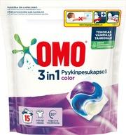 Omo Pyykinpesukapseli Color 15 Kpl