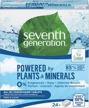 Seventh Generation Konetiskitabletti 24Kpl