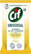 Cif Yleispuhdistusliina Citrus 36 Kpl