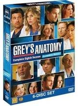 Greyn Anatomia 8. Tuotantokausi 6Dvd