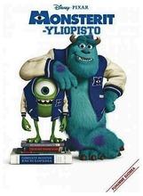 Monsterit-Yliopisto Dvd