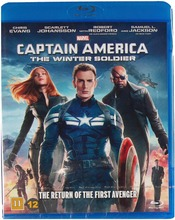 Captain America - Winter Soldier Blu-Ray