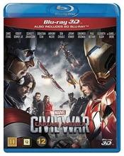 3D Captain America Civi