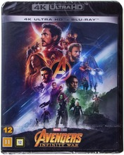 4Kblu-Ray Avengers Infinity War