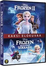 Frozen 1+2 Dvd
