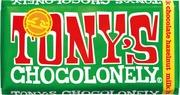 Tony's Chocolonely 180G Milk Hazelnut Maitosuklaalevy,Reilu Kauppa