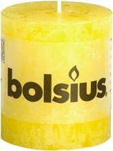 Bolsius Rustiikkikynttilä 68/80Mm Keltainen 12