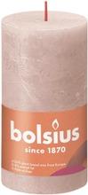 Bolsius Rustiikkikynttilä 68X130 Misty Pink 04