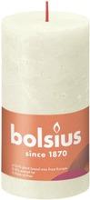 Bolsius rustiikkikynttilä 68x130 Soft pearl 05