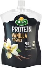 Arla Protein 200 G  Vähärasvainen Vaniljajogurtti On-The-Go